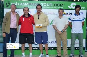 Juan Jose Hinojosa y Felipe campeones consolacion 2 masculina torneo malaga padel tour club calderon mayo 2013