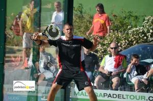 fran tobaria padel final 1 masculina torneo malaga padel tour club calderon mayo 2013