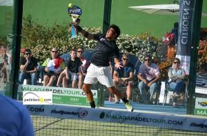 gabo loredo 3 padel final 1 masculina torneo malaga padel tour club calderon mayo 2013