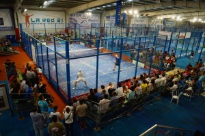 pista la red 21 world padel tour 2013