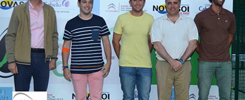 Vibrante estreno del circuito Málaga Pádel Tour en el club Calderón