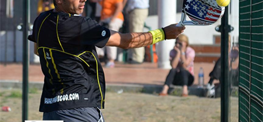 Javier Serrats y Carlos Muñoz mezclan la agitación y la pausa para vencer en la 2ª del Torneo All 4 Pádel en Los Olivos
