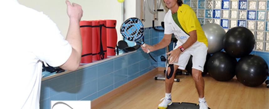 El Rayo Demianiuk y Epsylon Rehabilitación Deportiva: un acuerdo de confianza en buenas manos