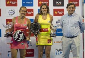 carolina navarro y cecilia reiter campeonas world padel tour madrid 2013