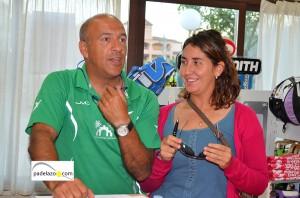 daniel bonino y rocio gonzalez torneo aniversario padelazo club los caballeros junio 2013