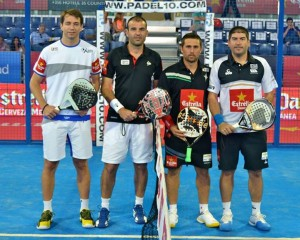 marcelo jardim willy lahoz matias diaz y cristina gutierrez world padel tour madrid 2013
