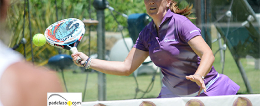 El pádel se pone a cien en el torneo de Mercedes Benz en el club Reserva del Higuerón