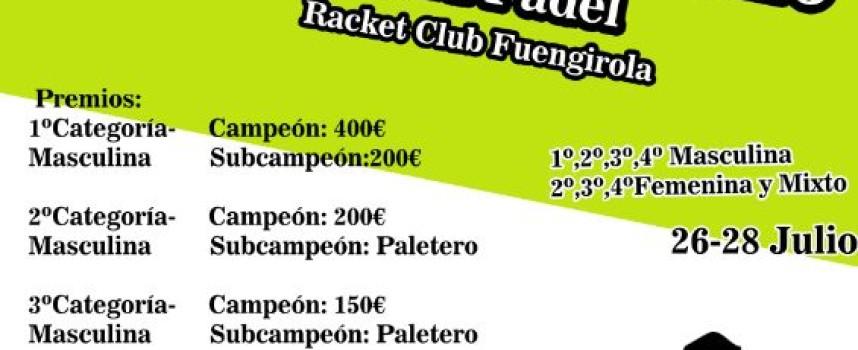 I Open de Verano Ohú Pádel en el Racket Club Fuengirola