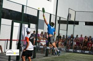 Alejandro Ruiz 8 padel final 1 masculina torneo diario sur vals sport consul malaga julio 2013