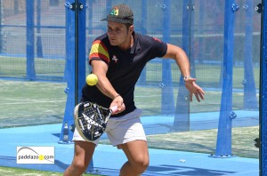 Javier Bravo padel 3 masculina Torneo Padel Club Tenis Malaga julio 2013