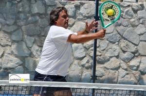Manolo Santiago 4 padel 3 masculina Torneo Padel Club Tenis Malaga julio 2013