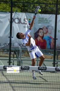 Raul Marcos 5 previa world padel tour malaga vals sport consul julio 2013