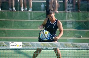 andreina de los santos 8 final 1 femenina Torneo Malakapadel Fnspadelshop Capellania julio 2013