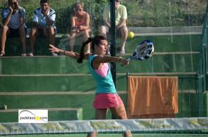 candela escobar 2 final 1 femenina Torneo Malakapadel Fnspadelshop Capellania julio 2013