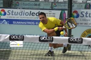 jorge cardenas 2 padel 1 masculina torneo diario sur vals sport consul malaga julio 2013
