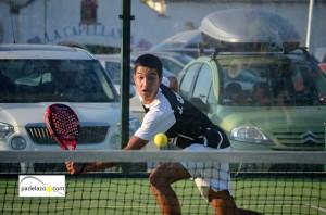 jose carlos gaspar 5 final 1 masculina Torneo Malakapadel Fnspadelshop Capellania julio 2013
