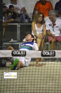 lesion gonzalo rubio pre-previa world padel tour malaga vals sport consul julio 2013