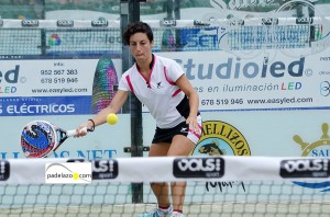 yolanda enamorado padel 3 femenina torneo diario sur vals sport consul malaga julio 2013