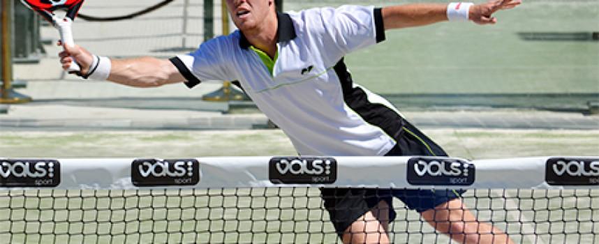 El pádel sube la temperatura con el inicio de la previa del Costa del Sol International Open en Málaga