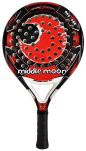 Palas de padel Middle Moon Eclipse 3 Carbon de Paquito Navarro.