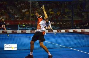 Paquito Navarro 2 cuartos final world padel tour malaga vals sport consul julio 2013