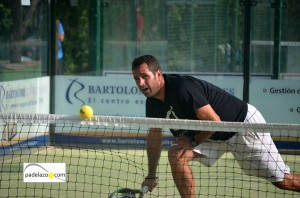 Dani Monedero 3 padel 1 masculina Torneo Padel Verano Lew Hoad agosto 2013