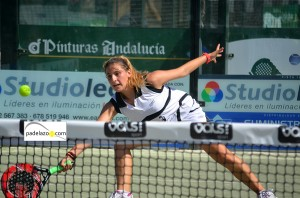 Nuria Rodriguez 2 pre previa femenina world padel tour malaga vals sport consul julio 2013