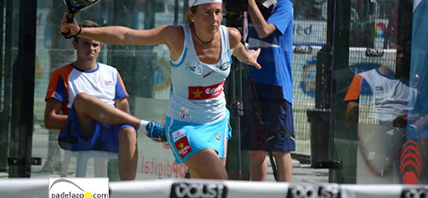 El pádel incontenible de Carolina Navarro y Ceci Reiter les lleva a semifinales del Costa del Sol International Open