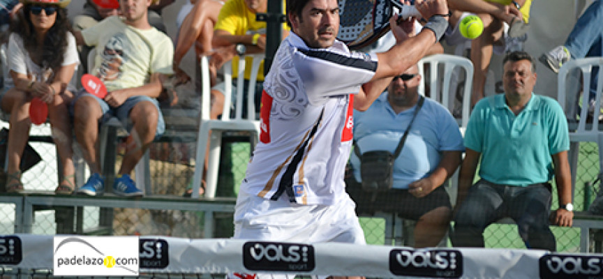 Juanjo Gutiérrez lleva la bandera de Málaga a los octavos del Costa del Sol International Open