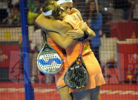 El empuje de Málaga eleva a Carolina Navarro y Ceci Reiter a la victoria en el Costa del Sol International Open