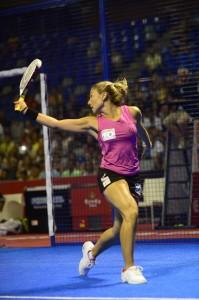 valeria pavon semifinal world padel tour malaga 2013