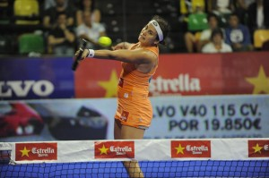 Cecilia Reiter final femenina Bilbao World Padel Tour.