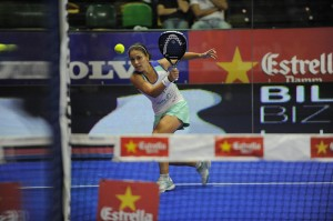 Elisabeth Amatriain final femenina bilbao world padel tour 2013. Foto: WPT.
