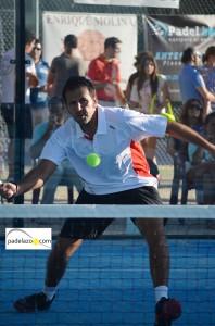 Fermin Novillo 5 padel 1 masculina Open Padel club Matagrande Antequera septiembre 2013
