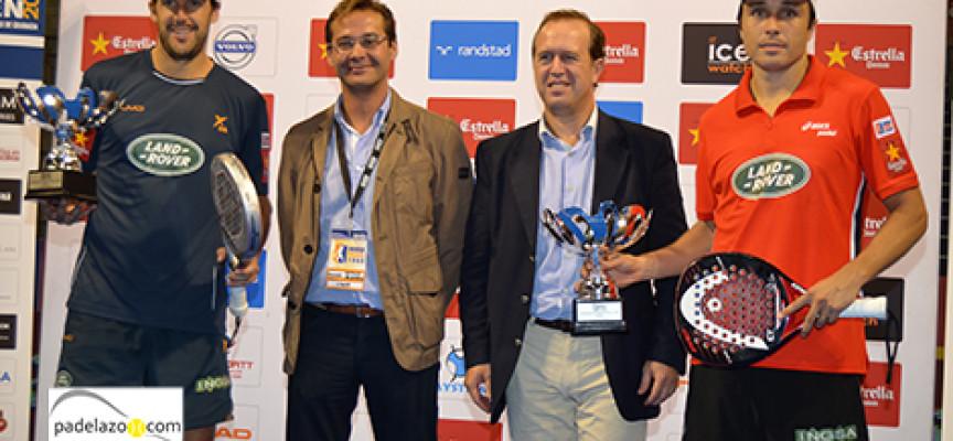 Fernando Belasteguin y Juan Martín suman su noveno título en el World Padel Tour en Granada