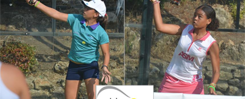 Las malagueñas Bea González y Alba Pérez, subcampeonas de España en su primer año juntas en infantil
