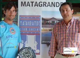 El padel de El Rayo Demianuk ilumina Antequera desde el club Matagrande