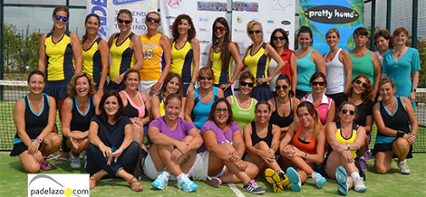 La Liga Femenina Padelazo 2013-2014 arranca a todo ritmo