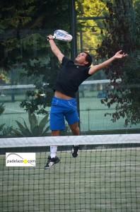 Leandro del Negro padel final de 1ª del torneo steel custom en fuengirola hotel myramar octubre 2013