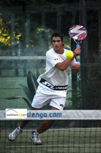 Manu Fernandez padel final de 1ª del torneo steel custom en fuengirola hotel myramar octubre 2013