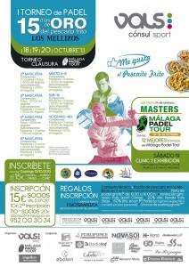 cartel torneo de clausura de málaga padel tour vals sport consul octubre 2013