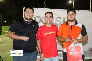 francisco morillo y roberto sanchez padel campeones 5 masculina torneo beneficio sala premier vals consul octubre 2013