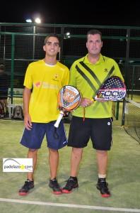 marco musso y paquito ruiz campeones final 2 masculina torneo padel drop shot churriana octubre 2013
