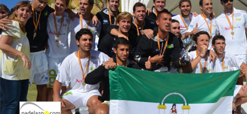 Javier Limones y Héctor Perona coronan la revancha andaluza en el Campeonato de España de Padel de Selecciones Autonómicas 2013