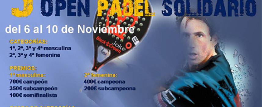 El padel de Antequera prepara su lado más solidario para el III Open Benéfico del club Matagrande