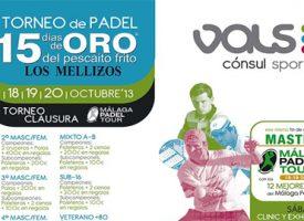 Málaga Padel Tour prepara su gran traca final con un Torneo de Clausura en Vals Sport Cónsul