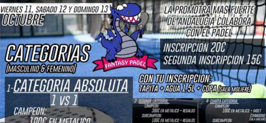 La fiesta del padel agita Málaga con un espectacular torneo de grandes premios en Fantasy Padel