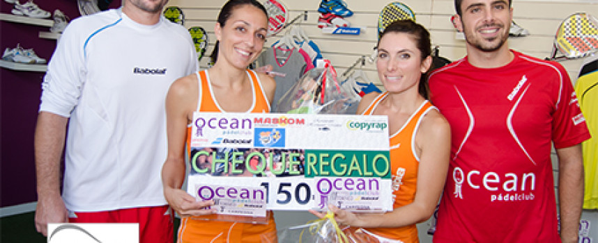 Padel intenso y sin pausa en el III Torneo Babolat de Ocean Padel