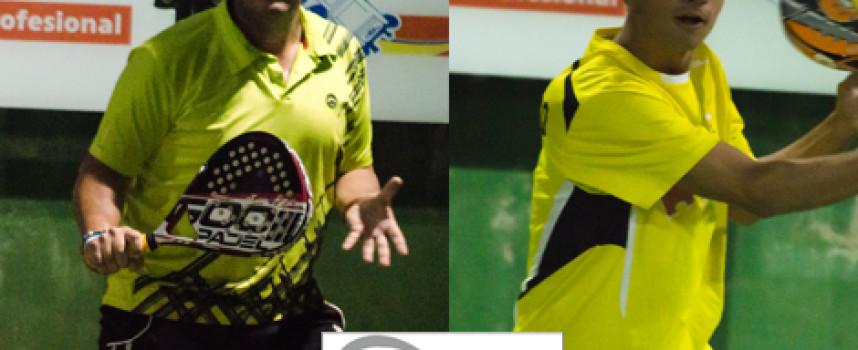 Paquito Ruiz y Marco Musso gobiernan el triunfo en la final de 2ª del Torneo de Padel Drop Shot en Churriana