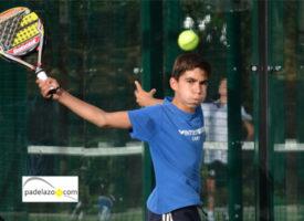 La lluvia sucumbe al empuje de la cantera en el III Torneo Padel Pro Kids en Marbella